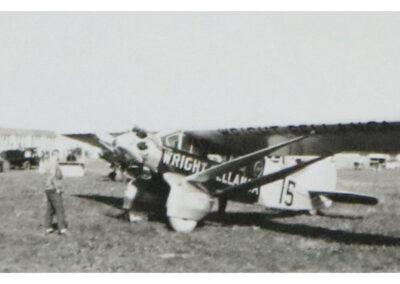 Vintage plane Fred Becker's Ship
