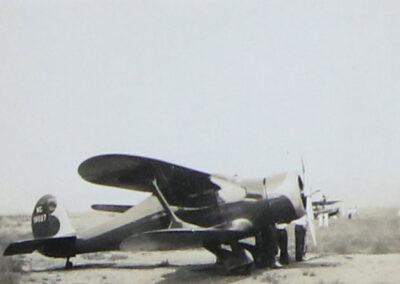 Biplane at Lake Placid Airport - Image 03 - 1936-1937