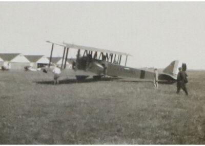 Vintage Martin Biplane - 1920's