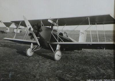 Image of a vintage aircraft at Lake Placid Airport - 01